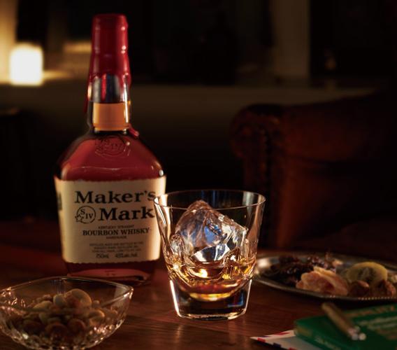 Maker's Mark×Sghr Hand Dippingグラス