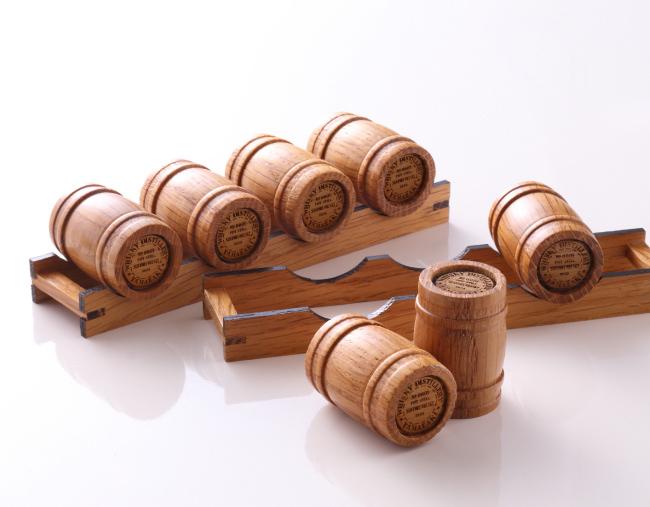 ミニチュア樽セット(小)2段積