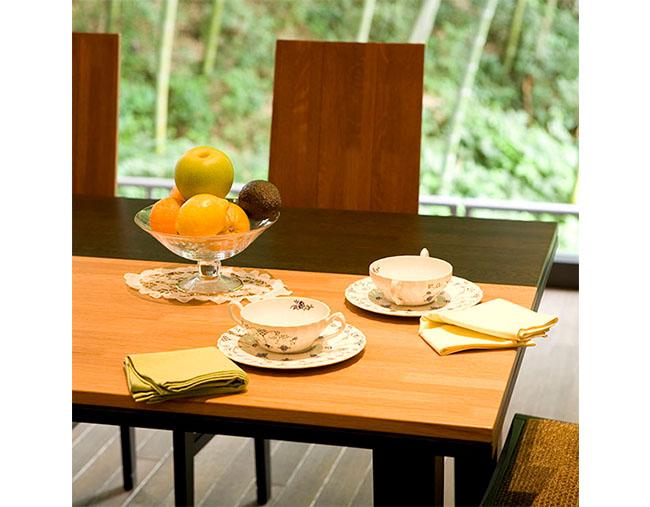 樽ものがたり ブレンド ダイニングテーブル シェリー&グレーン1500