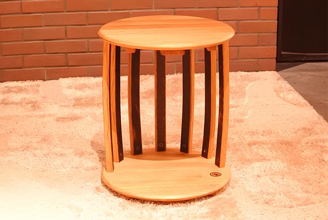 樽ものがたり バレル樽型サイドテーブル