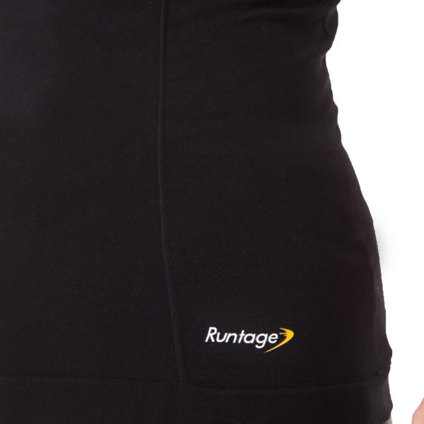 Runtage アスリートコンプレッションPRO トップス 4分袖_IF40