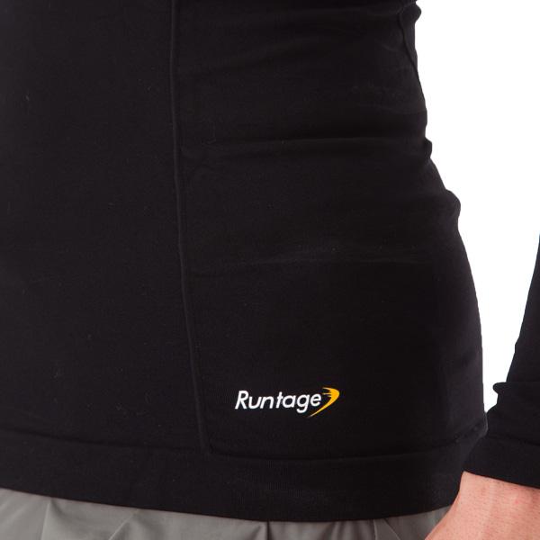 Runtage アスリートコンプレッションPRO トップス 10分袖 2枚組_IF41-2
