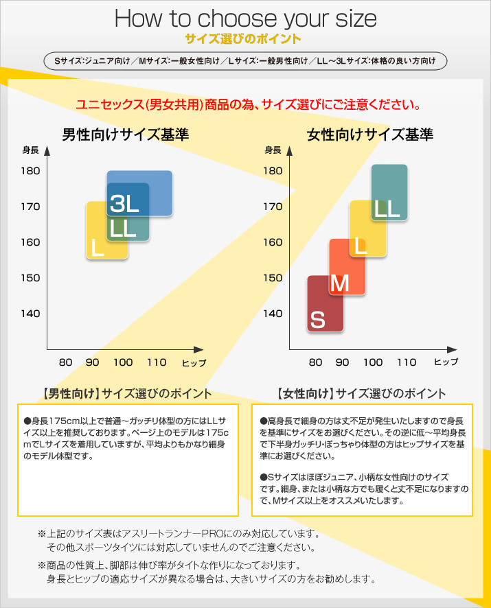 Runtage アスリートランナーPRO version3 十分丈_IF30