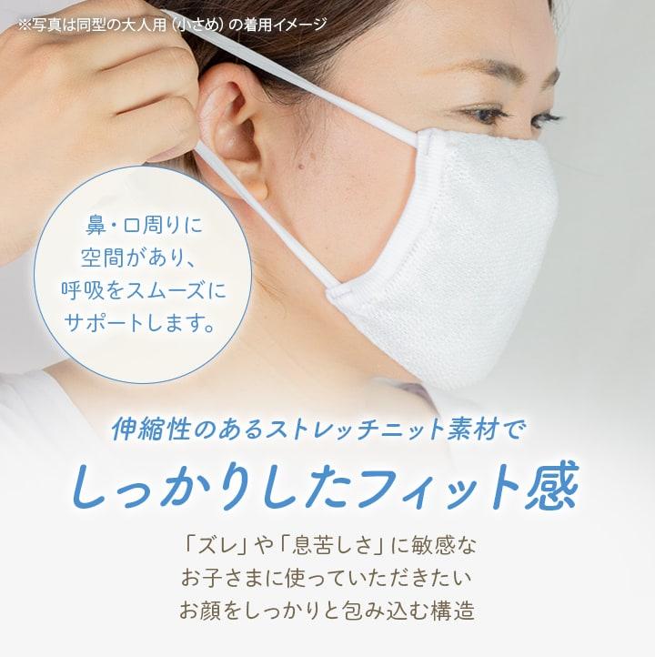 エアーメッシュマスク(子供用) 5枚セット【送料無料】[M便 1/1]