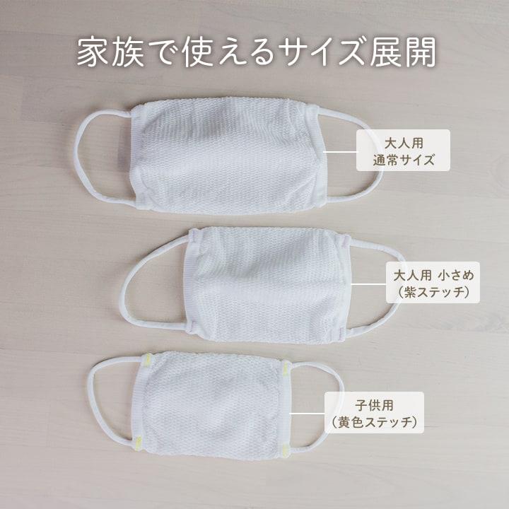エアーメッシュマスク(小さめ)3枚+フィルター2枚セット【送料無料】[M便 1/1]