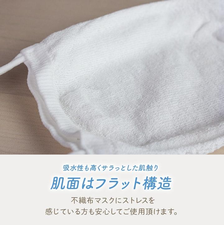 エアーメッシュマスク 花柄レース(ホワイト)3枚+フィルター2枚セット【送料無料】[M便 1/1]
