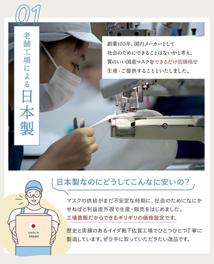 クールストレッチニットマスク ホワイト3枚セット【送料無料】[M便 1/1]