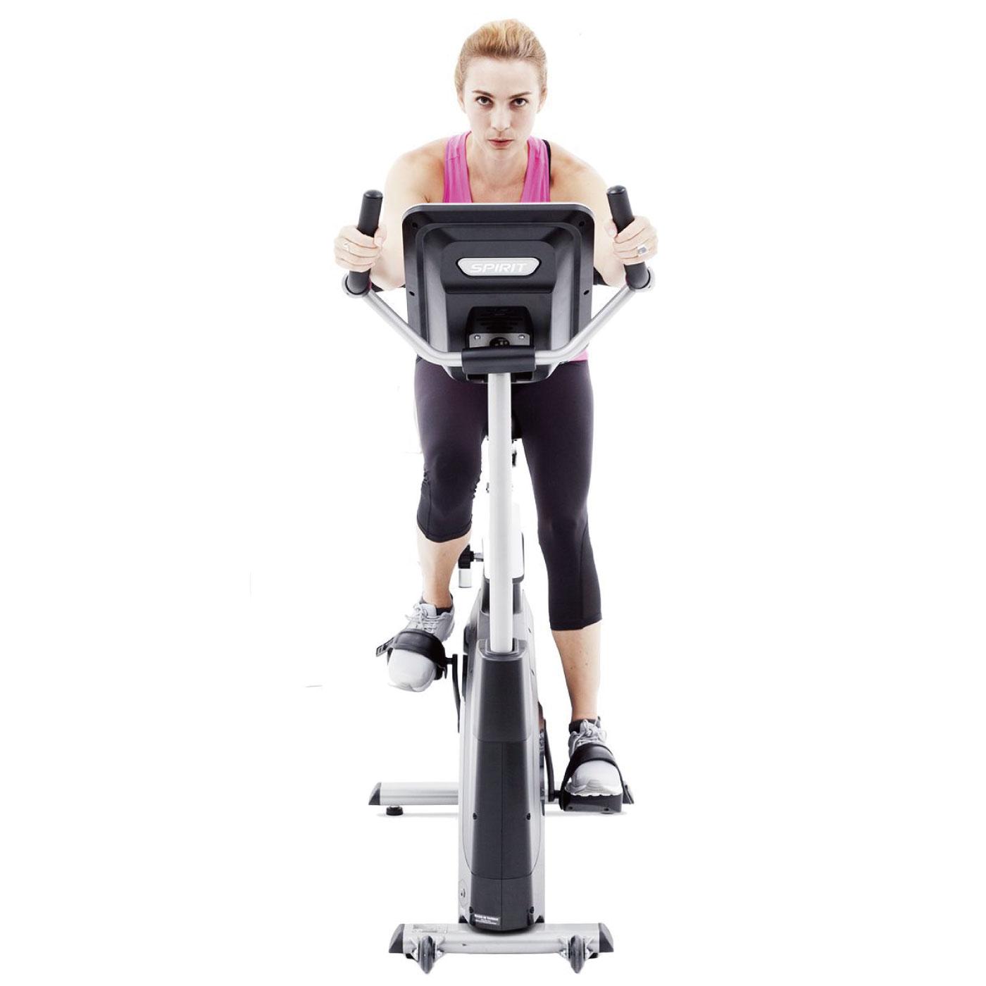 XBU55/医療用(リハビリ・機能訓練向け)アップライトバイク〈Spirit Fitness〉《ダイヤコ》