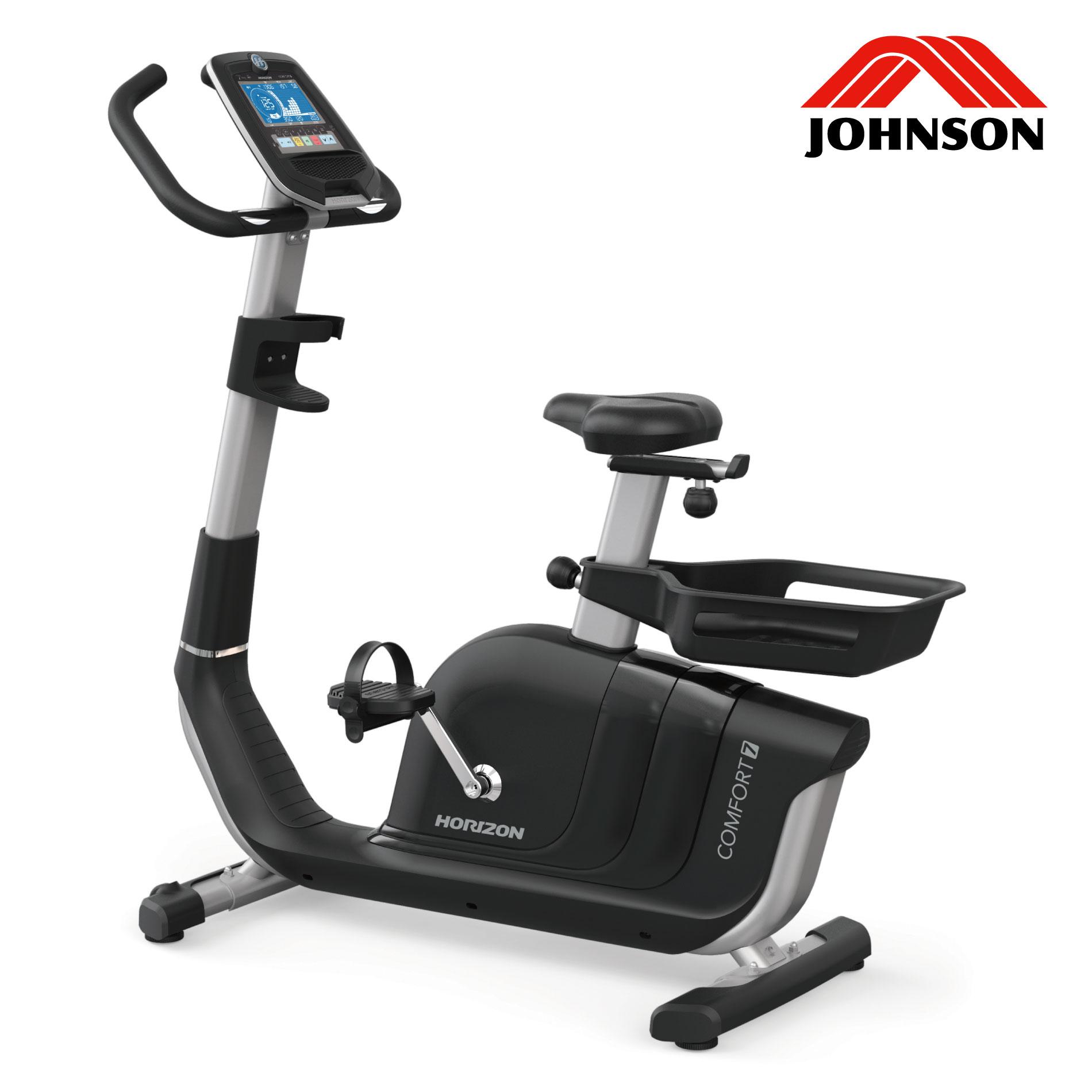 Comfort7/家庭用アップライトバイク《ジョンソンヘルステック》