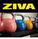 スチールコンペティション ケトルベル10個+EXケトルベルラックセット(8kg-40kg)/ケトルベル・ラックセット〈業務用〉《ZIVA(ジーヴァ)》