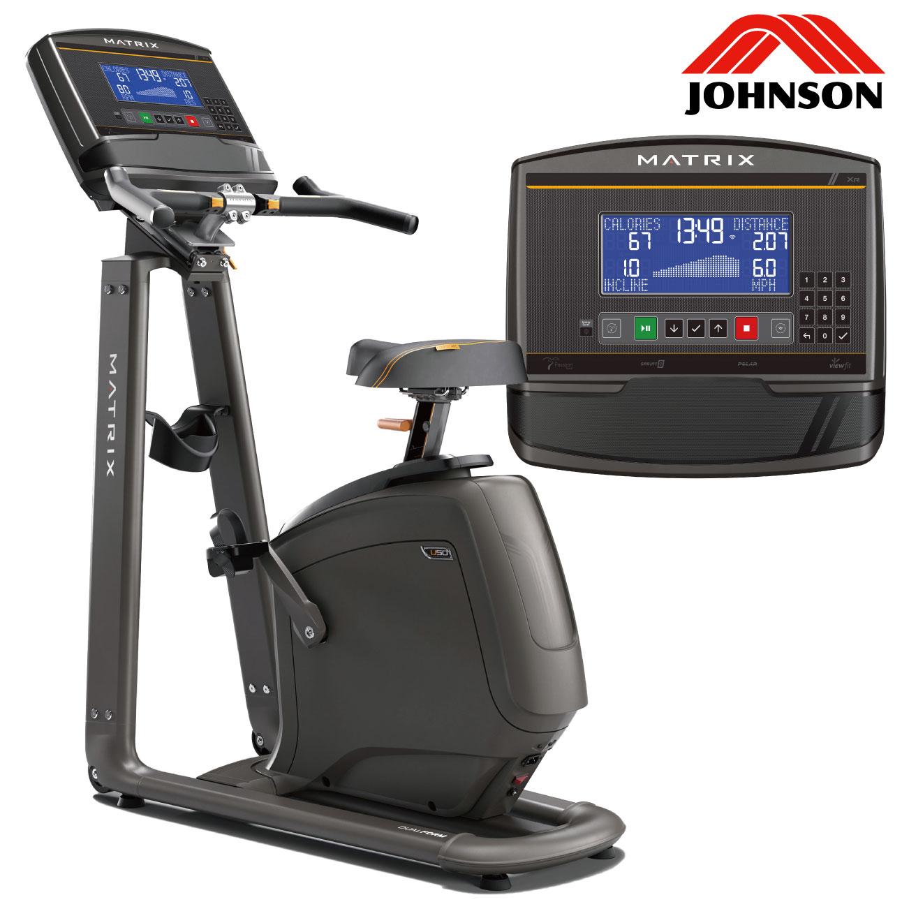 U50-XR/家庭用アップライトバイク〈家庭用MATRIX〉《ジョンソンヘルステック》