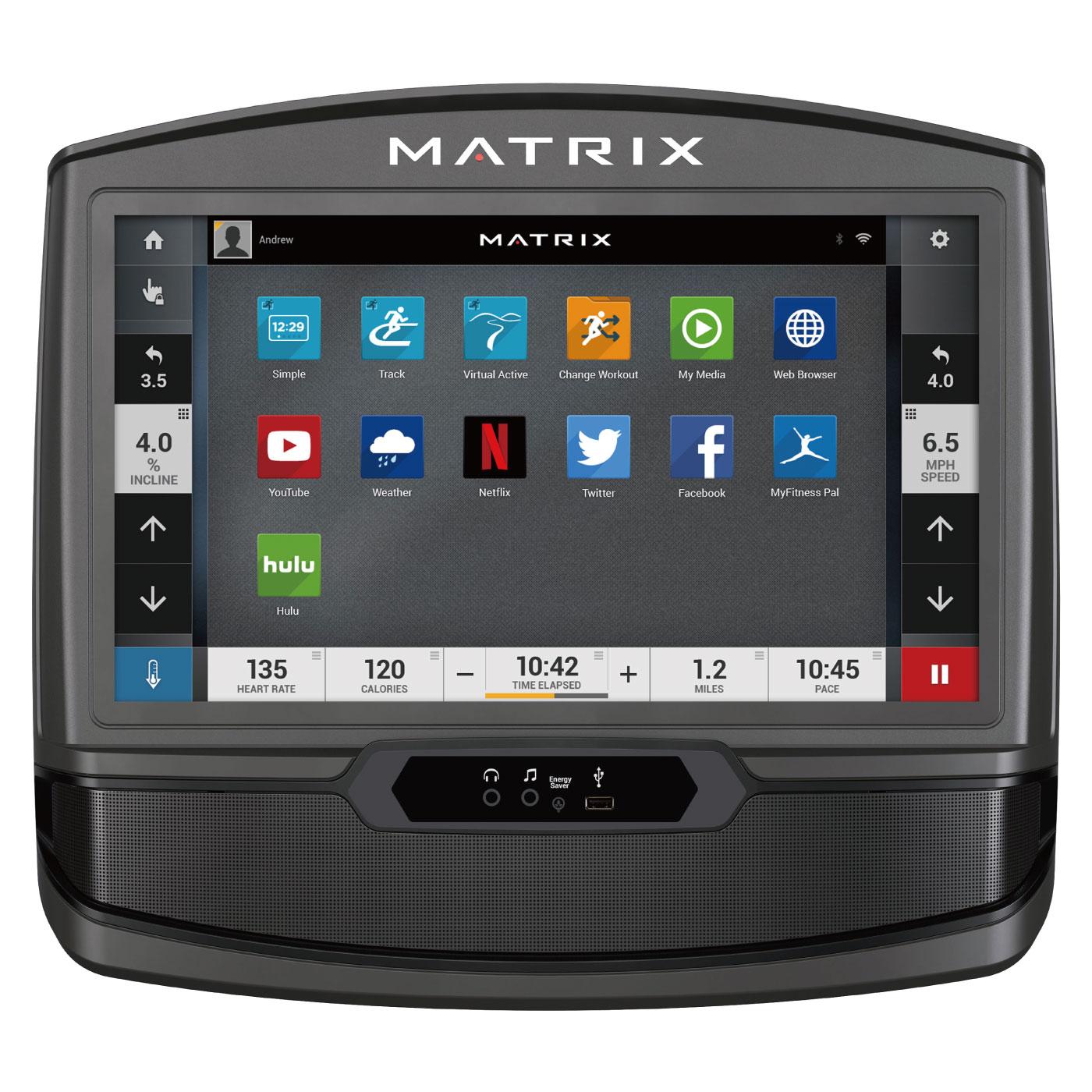 U50-XIR/家庭用アップライトバイク〈家庭用MATRIX〉《ジョンソンヘルステック》