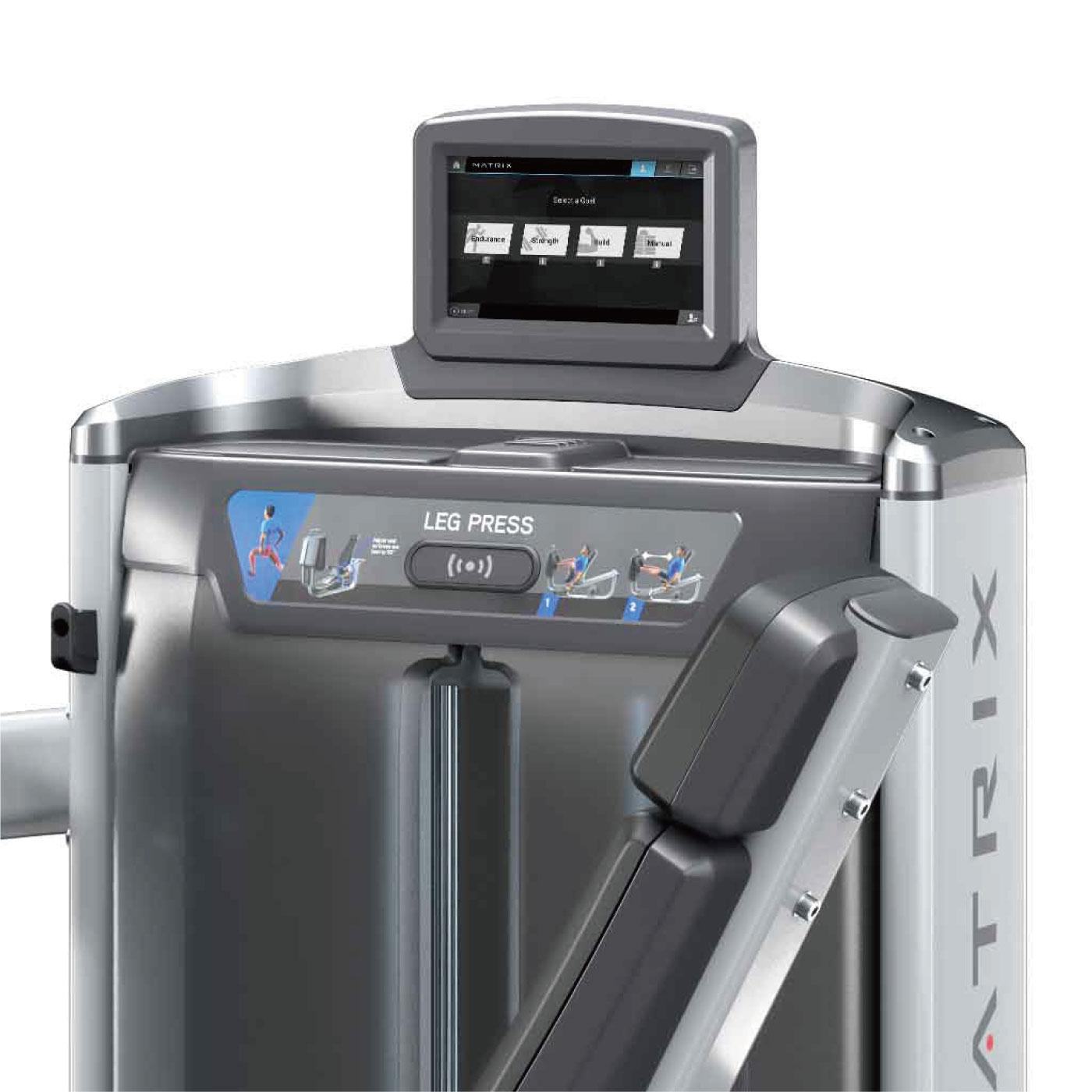 G7-S70-V2(レッグプレス)〈アルトラV2シリーズ〉/業務用ストレングスマシン〈業務用MATRIX〉《ジョンソンヘルステック》