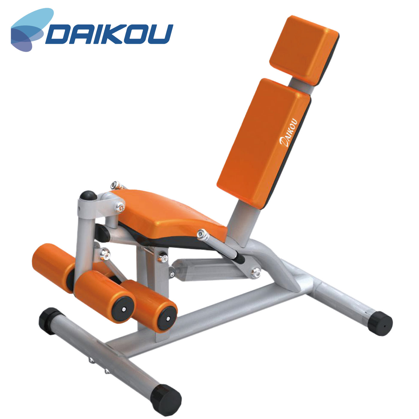 DK-1205(レッグカール・エクステンション)/準業務用油圧マシン《DAIKOU(ダイコー)》