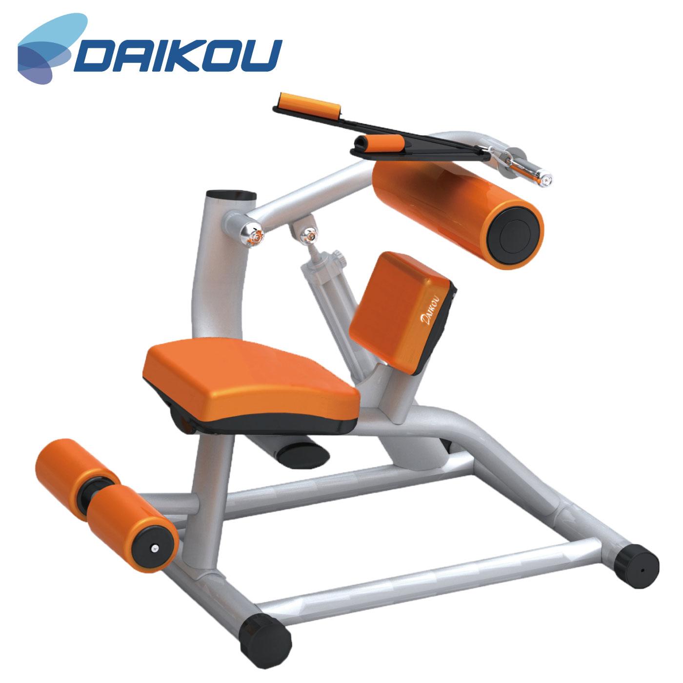 DK-1208(アブドミナルクランチ・バックエクステンション)/準業務用油圧マシン《DAIKOU(ダイコー)》