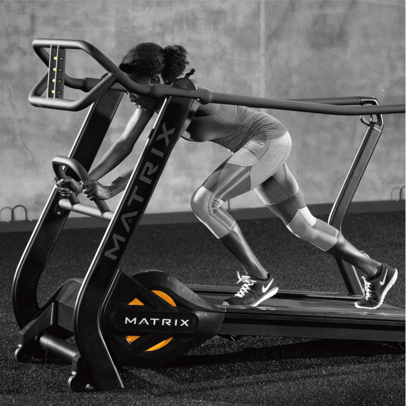 S-Drive Performance Trainer(S-ドライブ・パフォーマンス・トレーナー)/自走式ランニングマシン〈業務用MATRIX〉《ジョンソンヘルステック》