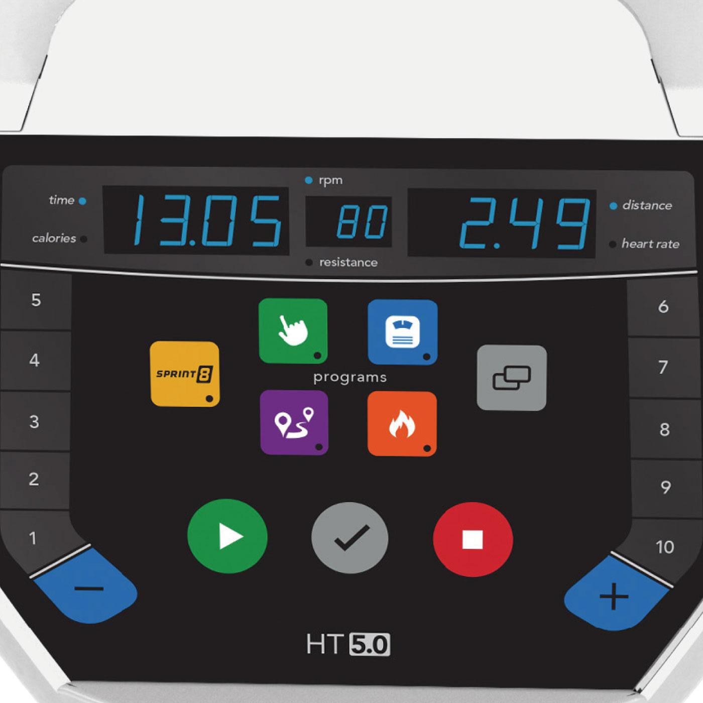 HT5.0/家庭用ピークトレーナー〈HORIZON〉《ジョンソンヘルステック》