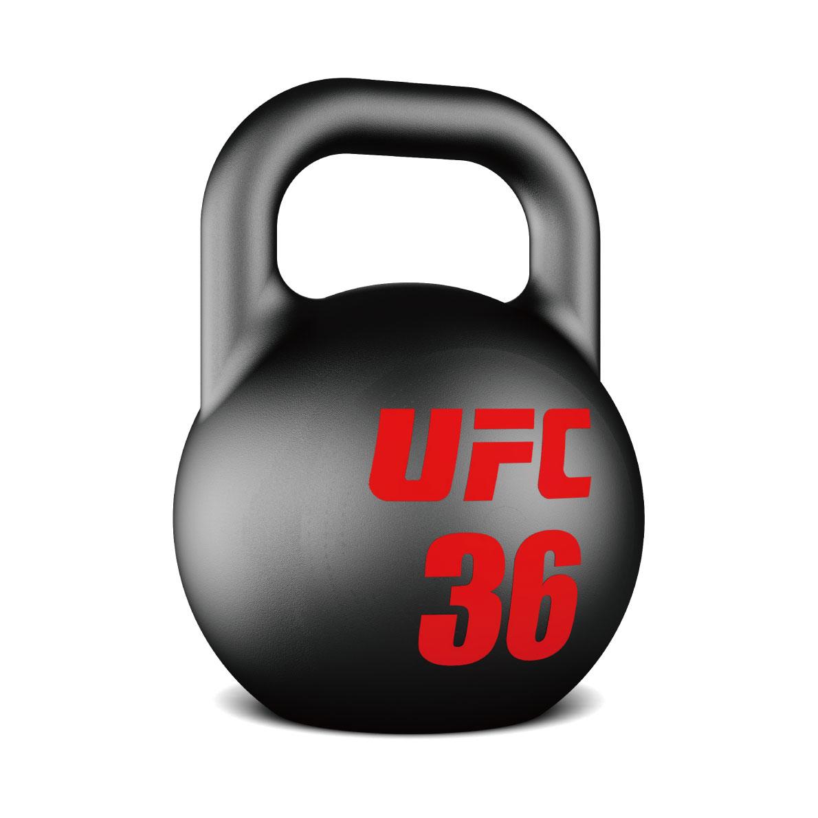 ウレタンケトルベル/ダンベルの10個セット(8kg-36kg)〈業務用〉《総合格闘技UFCオフィシャル》