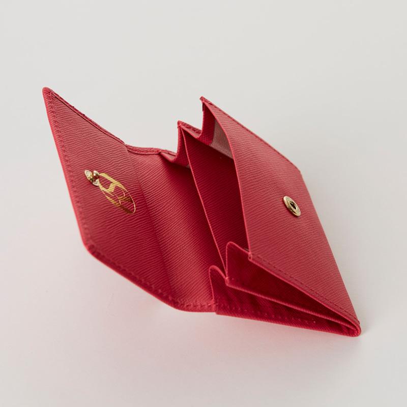 【ORDER ITEM】LASKA オリジナルコインケース(サフィアーノピンク)