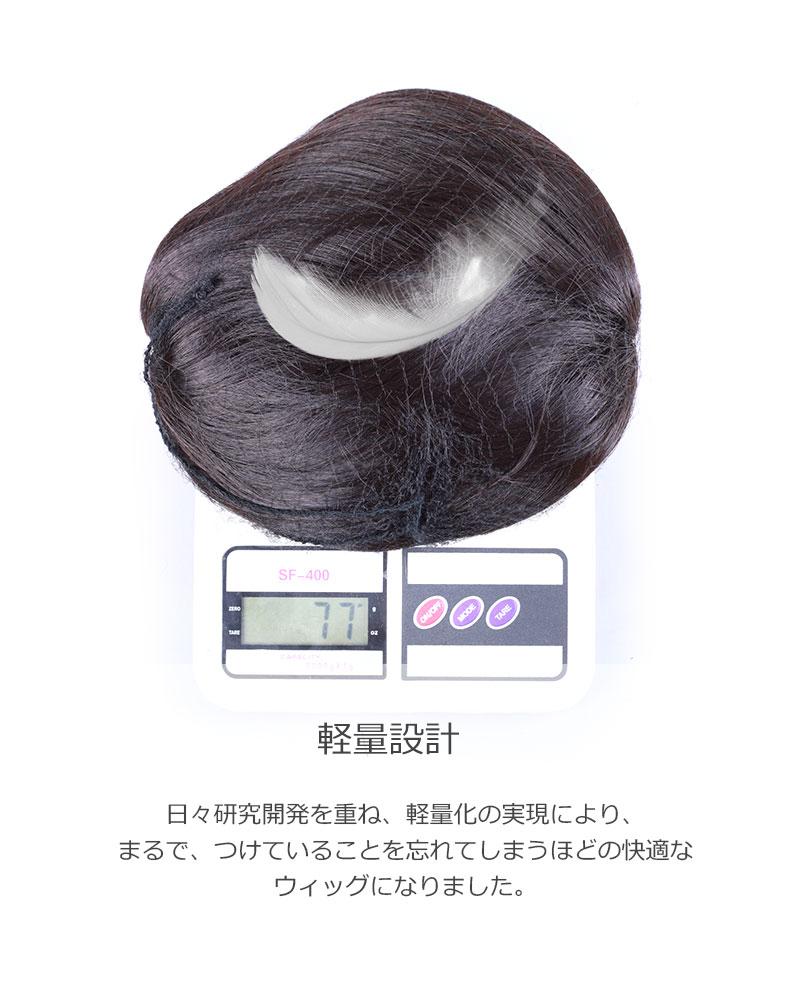 医療用ウィッグ ショート 【送料無料】レディース ウィッグ かつら IU1001P-N2 [10500]