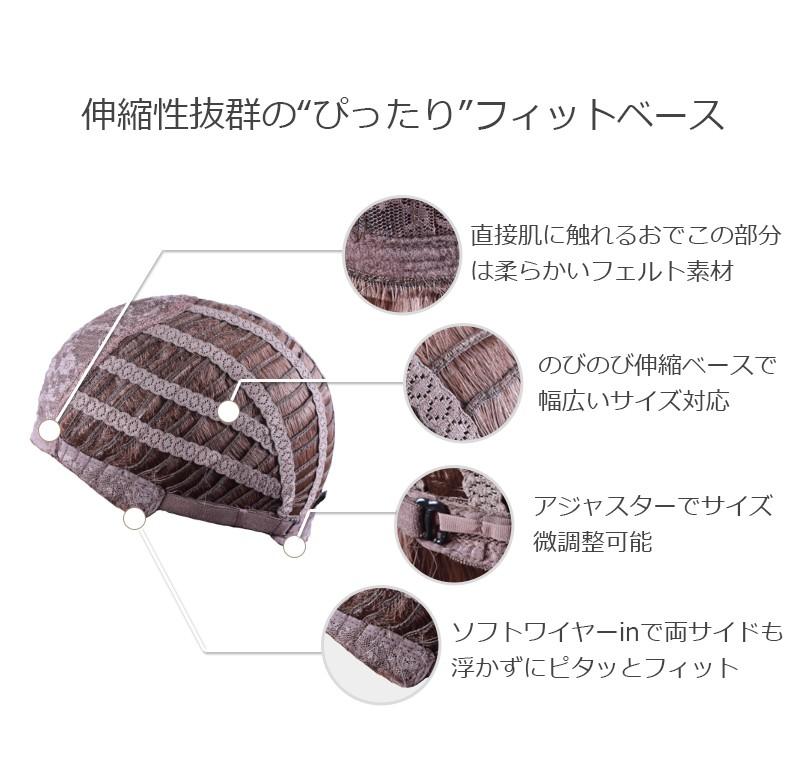 ウィッグ ミディアム レディース 【送料無料】 ウイッグ かつら ロング M17C9 [10501]