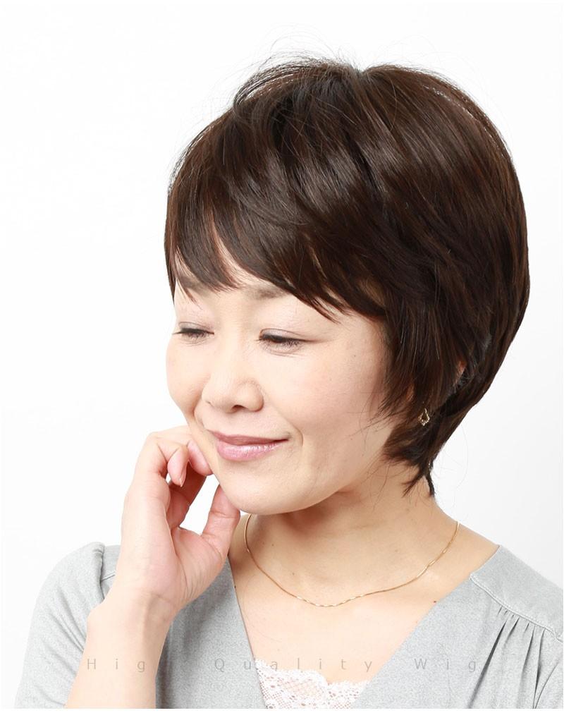 医療用ウィッグ ショート 【送料無料】レディース ウィッグ かつら IU7151-3-P [10355]