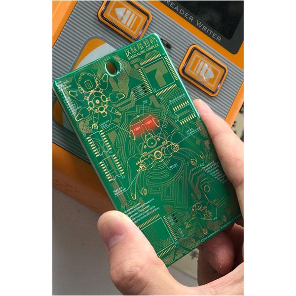 攻殻機動隊シリーズ 攻殻機動隊S.A.C. 基板カードケース 「緑」ver.