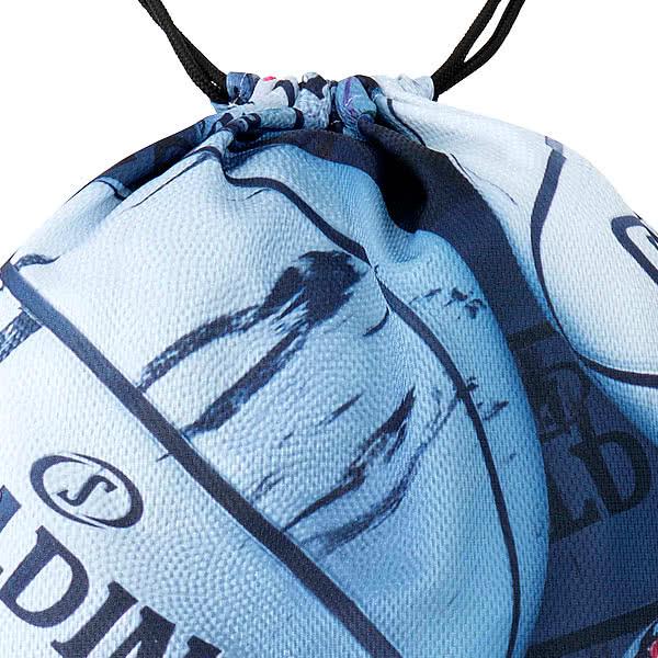 SPALDING ナップサック マーブルホワイト 33L スポーツ ジムサック バスケ バッグ スポルディング SAK009MB MARBLE WHITE