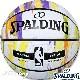SPALDING バスケットボール7号 マーブルコレクション オータム 大理石柄 ラバー スポルディング83-809J
