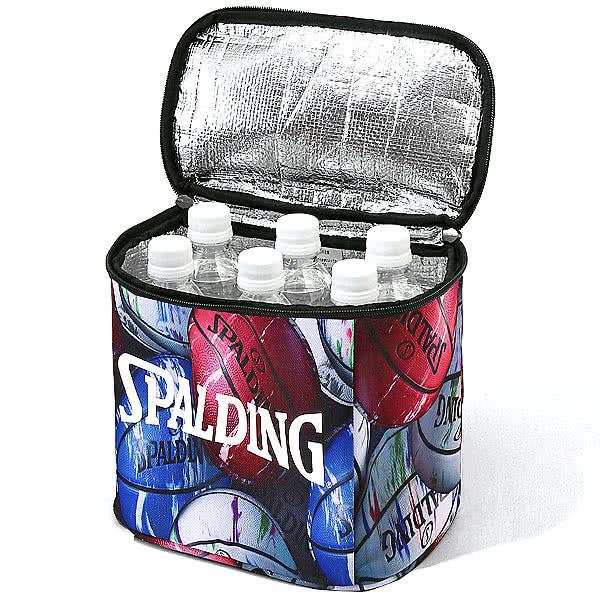 SPALDING バスケ クーラーバッグ マーブルボール 保温 保冷 スポルディング 50-009MB