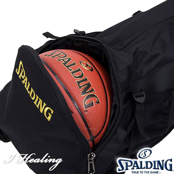 SPALDING ケイジャーTB ブラックゴールド バスケットボール用バッグ バックパック リュック スポルディング40-007TB