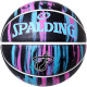 スポルディング ミニバス バスケットボール 5号 ヒート マーブル マイアミ バイス ブラック バスケ 84-304J 小学校 子供用 ゴム 外用ラバー SPALDING