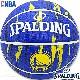 SPALDING バスケットボール7号 NBAゴールデンステイト ウォリアーズ マーブル ラバー スポルディング83-935J
