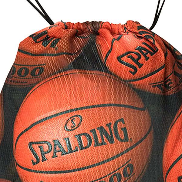 SPALDING ナップサック ブラウンボール 33L スポーツ ジムサック バスケ バッグ スポルディング SAK002BRB BROWN BALL