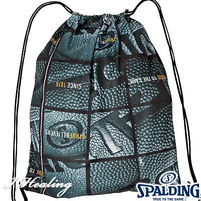 SPALDING ナップサック ボールウインドウ バスケットボール バッグ リュック スポーツ スポルディング SAK001BW BALL WINDOW
