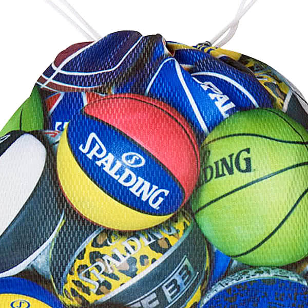 SPALDING ナップサック マルチボール 33L スポーツ ジムサック バスケ バッグ スポルディング SAK002MLB MULTI BALL