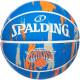 スポルディング バスケットボール 7号 ニックス マーブル ブルー バスケ 84-108Z ゴム 外用ラバー SPALDING