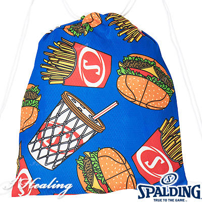 SPALDING ナップサック ハンバーガー ハングリー バスケットボール バッグ リュック スポーツ スポルディング SAK001HG HUNGRY