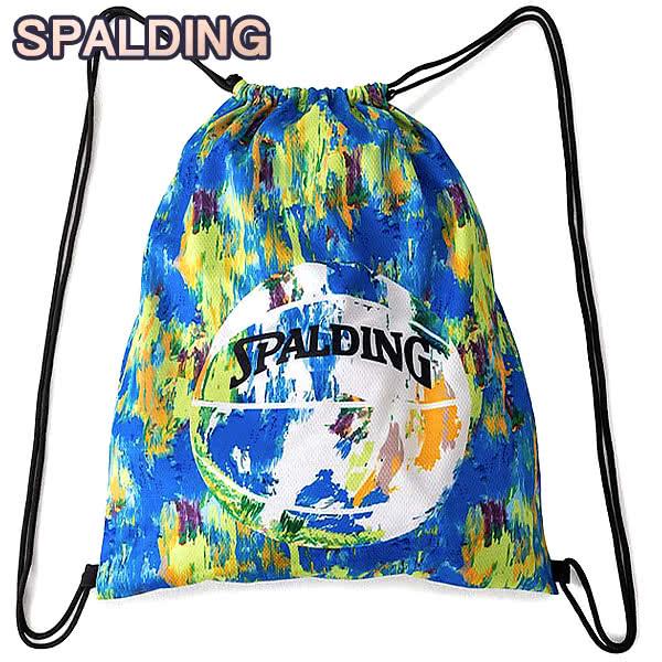 SPALDING ナップサック マーブルマルチ 33L スポーツ ジムサック バスケ バッグ スポルディング SAK003MBL MARBLE MULTI