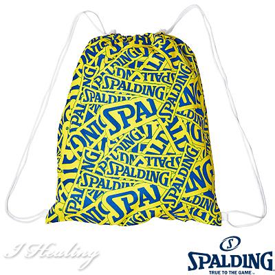 SPALDING ナップサック スポルディング バスケットボール バッグ リュック スポーツ SAK001SD ブルーイエロー