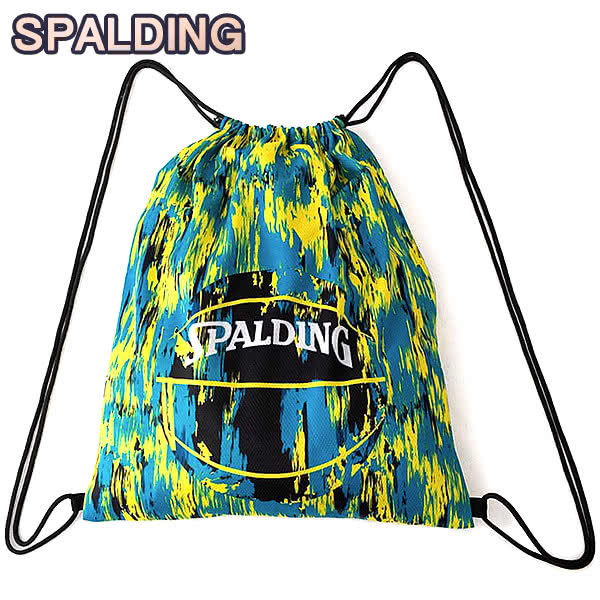 SPALDING ナップサック マーブルグリーン 33L スポーツ ジムサック バスケ バッグ スポルディング SAK004MBL MARBLE GREEN