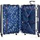 スポルディング 衝撃吸収スーツケース 大型 ハイパー サスペンションキャスター96L ブルー キャリーケース SPALDING SP-0700-68BLUE