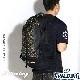 SPALDING ケイジャー バットマン ダークナイト レッド バスケットボール用バッグ バックパック リュック スポルディング40-007BDR