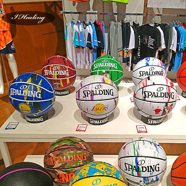 SPALDING ミニバス バスケットボール5号 NBAロゴ マーブル 小学校 子供用 ラバー スポルディング83-928J