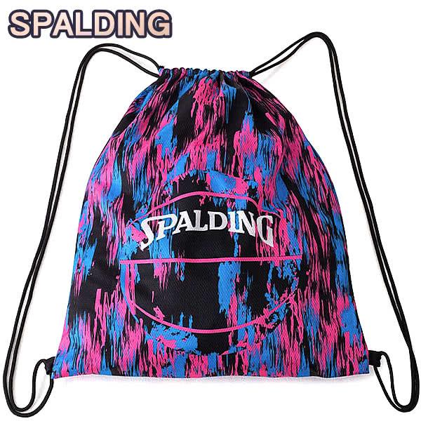 SPALDING ナップサック マーブルピンク 33L スポーツ ジムサック バスケ バッグ スポルディング SAK005MBL MARBLE PINK