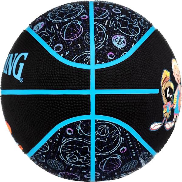 スポルディング バスケットボール 7号 スペースジャム テューン スクワッド クルー バスケ 84-582Z ゴム 外用ラバー SPALDING