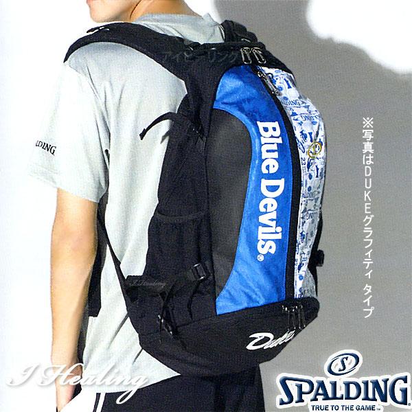 SPALDING ケイジャー ジャスティスリーグ ブラック バスケットボール用バッグ バックパック リュック スポルディング40-007JL