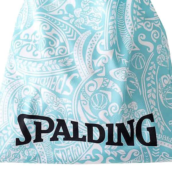 SPALDING ナップサック ポリネシアンターコイズ 33L スポーツ ジムサック バスケ バッグ スポルディング SAK002POLTQ POLYNESIAN TURQUOISE