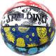 スポルディング ミニバス バスケットボール 5号 トロピカル 春夏 バスケ 84-323J 小学校 子供用 ゴム 外用ラバー SPALDING