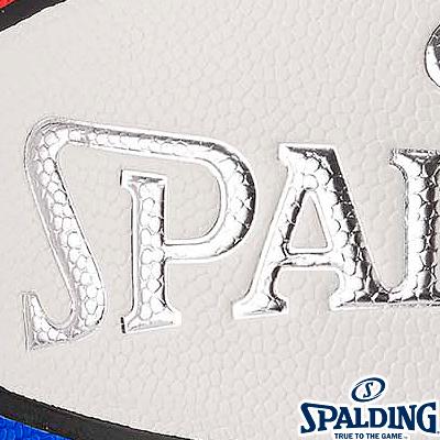 SPALDING 2018 NBAオールスター マネーボール バスケットボール7号 合成皮革 スポルディング76-2398